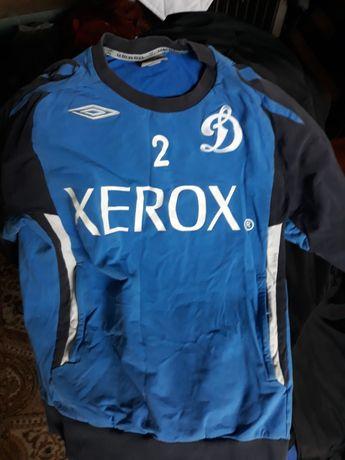 Динамо Москва номер 2.фирменный  спортивная одежда футбольной команды