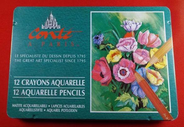 Conte a Paris 12 CRAYONS AQUARELLE * моливи