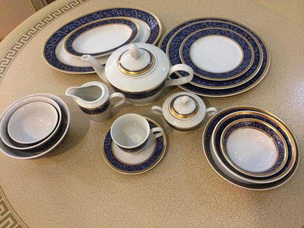 сервиз чайно-столовый 12персон Чехия новый