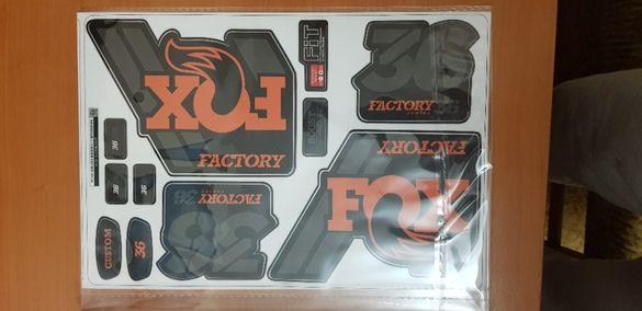 Стикер ,винил FOX Factory 36 series