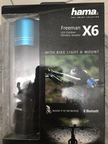 Boxa portabila Hama Freeman bluetooth, Negru/Albastru
