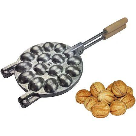 Forma traditionala pentru nuci cu 16 jumatati,briose,pasari,sau scoici