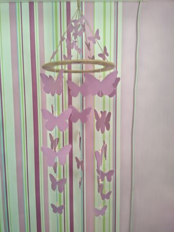 Висящи украси-цветя или пеперуди