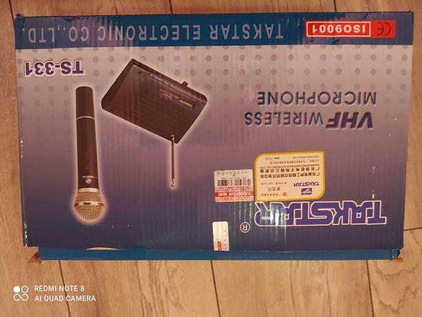 Микрофон два в одном в студию