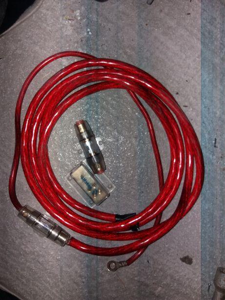 Cablu/sigurante statie auto