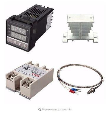 Контроллер печи полимеризации REX C100 порошковой краски до 400 С