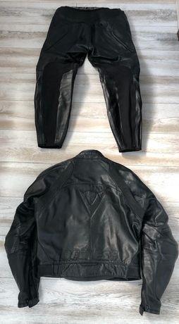 Costum moto piele