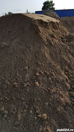 Pamant negru! Transport pământ nisipos galbui și negru