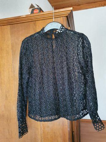 Bluza NOUA H&M dantela 38