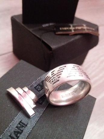 Inel argint Emporio Armani