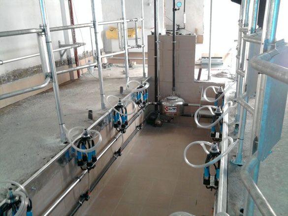Доилна инсталация - Доилни части - Доилни системи - Доилен агрегат