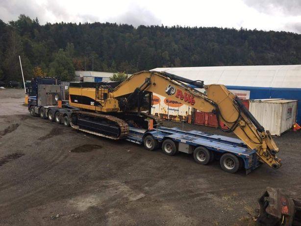 Transport combine,Transport agabaritic Transport cu trailer