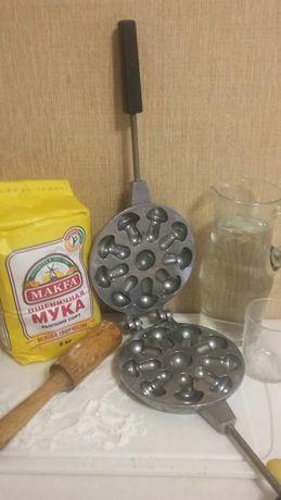 Форма для выпечки печенья ( грибочки)+Рецепт.