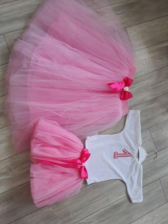 юбка-пачка для мамы и дочки