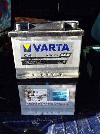 baterii acumulator batrie acumulator auto 56 ah varta black