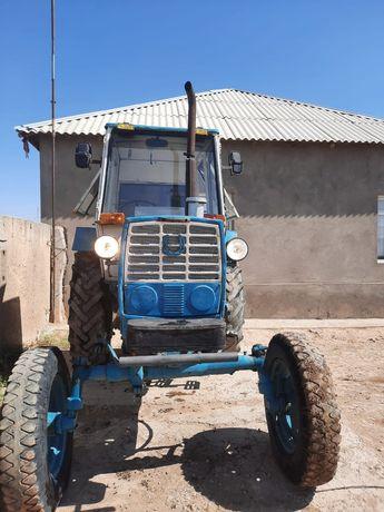 Трактор ЮМЗ жылга ауылында