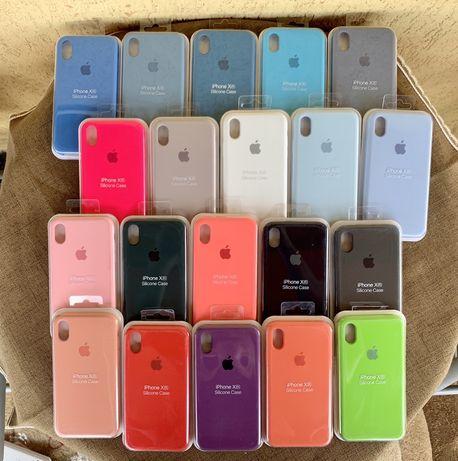 Huse Apple Silicone Case iPhone 7 8 Plus X XR Max 11 Pro Max ORIGINALE