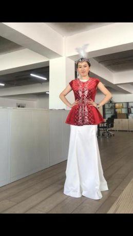 Очень красивая платье на Узату или Сырга салу,самый раз