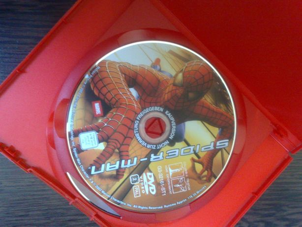 film Spider-man 2 DVD