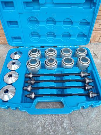 Комплект инструменти за монтаж и демонтаж на тампони и селенови втулки