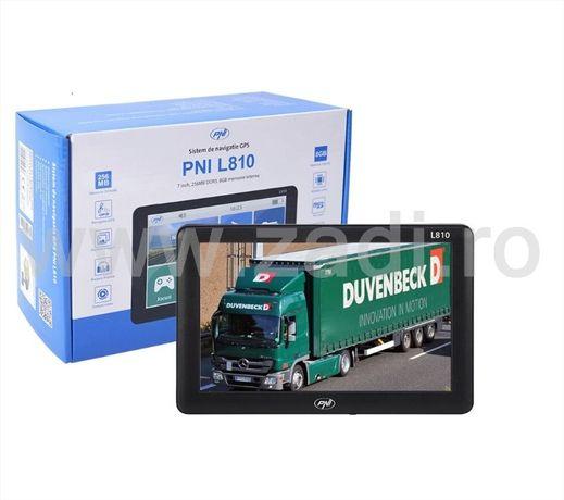 Navigatie GPS auto si camion- model PNI-L810-gata de drum