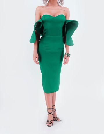 Rochie verde ocazie/eveniment/nunta/cununie