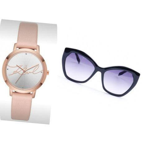 Часовник  и Слънчеви очила Karl Lagerfeld