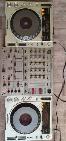 Pioneer DJM 600+CDJ 800Mk2(2шт)