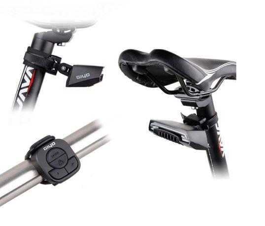 Giyo R1 stop semnalizare usb Wireless bicicleta laser meilan X5