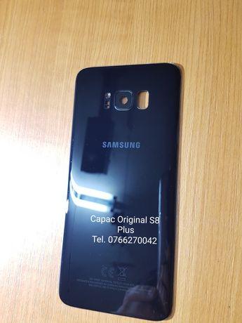 Capac S8 Plus Original Impecabil. Negru