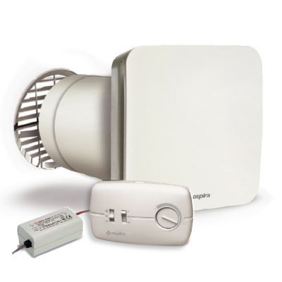 Aspira ECOCOMFORT 160 cu fir, ventilatie cu recuperare de caldura