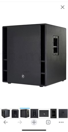 """Vand subwoofer mackie thump 18"""""""
