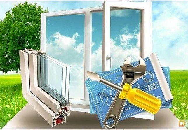 Ремонт пластиковых окон, дверей, перегородок! Качественно и оперативно