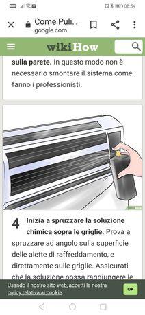 Igienizare aer condiționat cu Germacert Plus