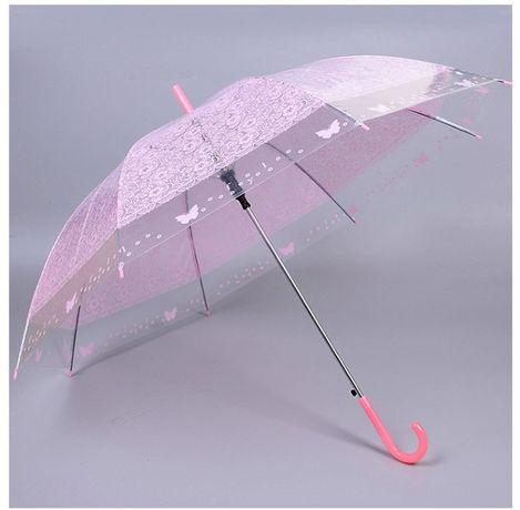 Umbrela transparenta, plianta/automata