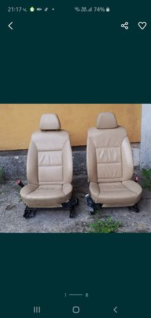 Седалки за BMW e60