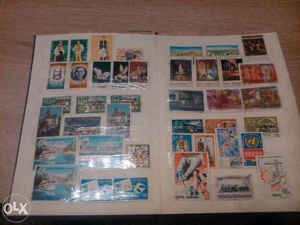 timbre romanesti anii 1966 - 1986