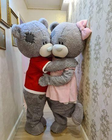 Ростовая кукла Мишки Тедди на прокат. Костюм Мишки в аренду Алматы