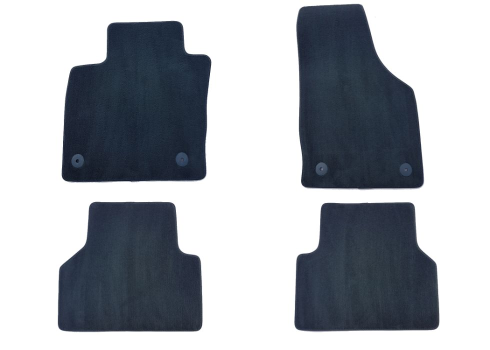 Set Covorase auto din mocheta de calitate originale AUDI Q3 2011→2021 Timisoara - imagine 1