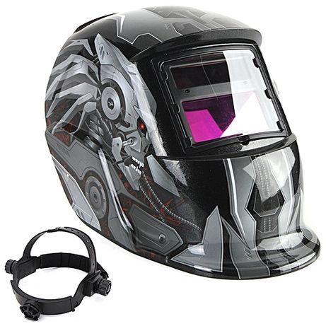 Соларна маска Fire Silver - Заваръчен шлем