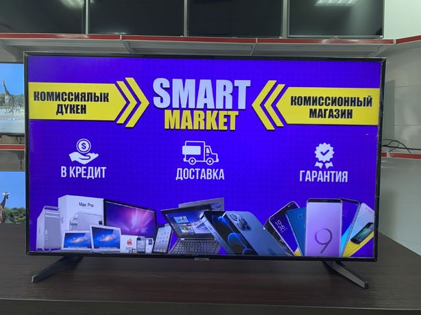 Телевизор Smasung UHD 4K Smart TV 50'(127см) Рассрочка Гарантия 12 мес