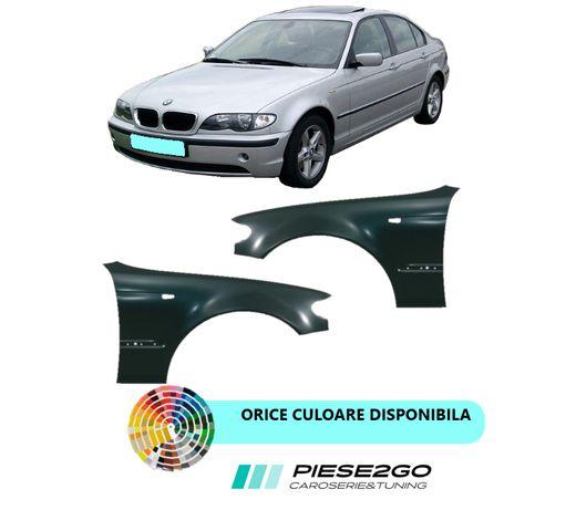 Aripa fata BMW E46 VOPSITA Negru Albastru Argintiu Alb Rosu Gri
