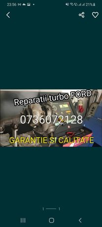 Turbina reconditionata pt ford 1.6 diesel