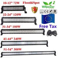 Мощен Лед Бар диоден 12V - 24V LED от 35 см до 131 см