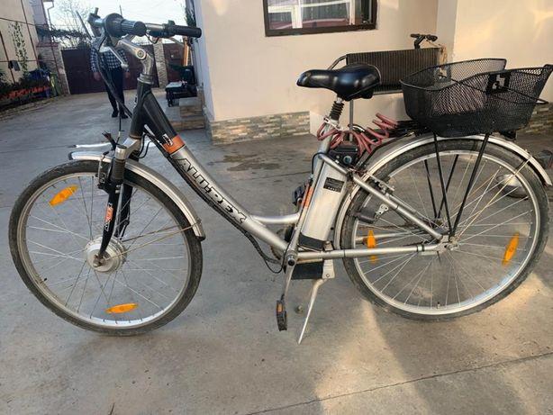 Bicicletă Electrică Alu-Rex cu schimbător SRAM
