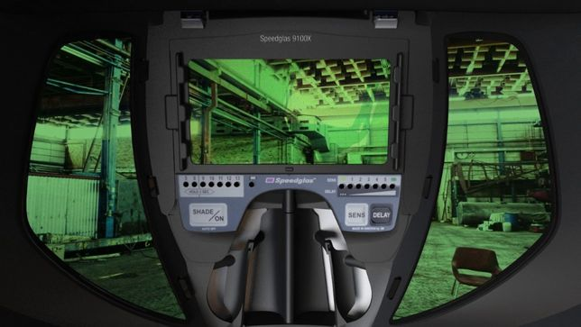 Профессиональная маска сварщика Speedglass 3M 9100X оригинал