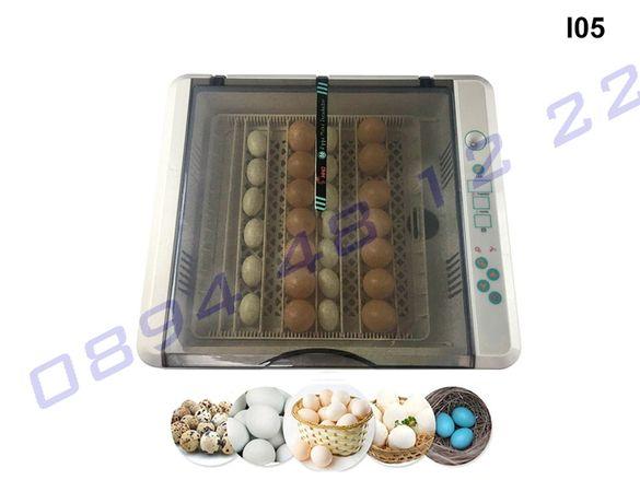 Автоматичен инкубатор 36 яйца влагомер овоскоп люпилня пилета яйце