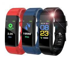 Смарт гривна. ID 119 P Смарт Bluetooth гривна , Смарт гривни часовници