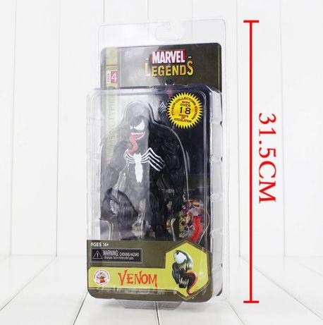 Figurina Venom Simbiot Marvel Spider-Man Eddi Brock 18 cm