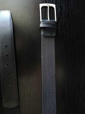 Curea NOUA  Meyer gri închis cu gri deschis 100 cm